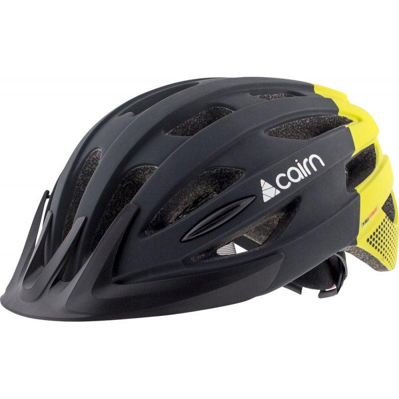 Kask rowerowy Cairn Prism XTR czarno czerwony BikerShop